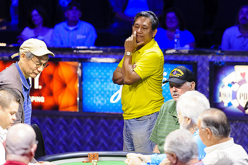 Steve Gee is eliminated in 8th place