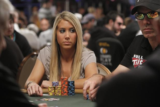 Lauren Kling is a Small Girl With a Big Stack