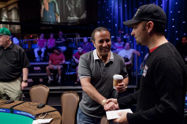 Sammy Farha and Daniel Negreanu