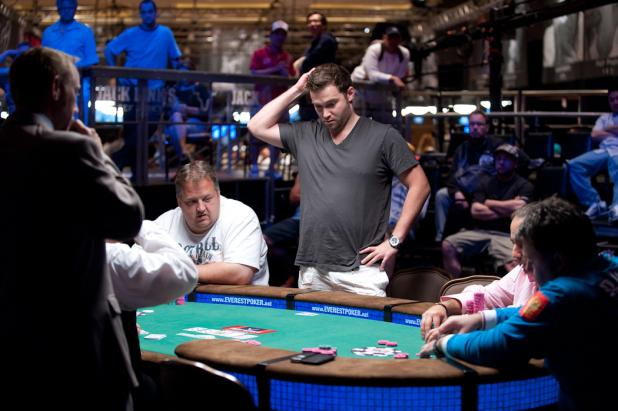 Eugene Katchalov Clings to a Few Chips