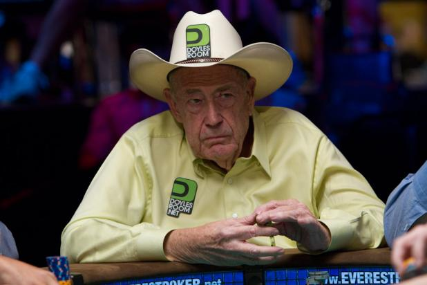Doyle Brunson is Still Strong at 76