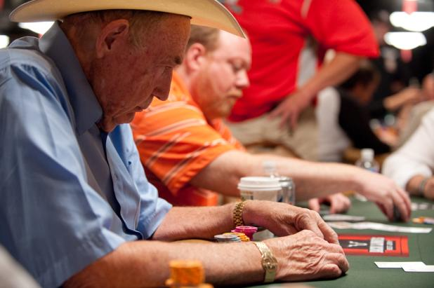 Doyle Brunson and Dan Heimiller