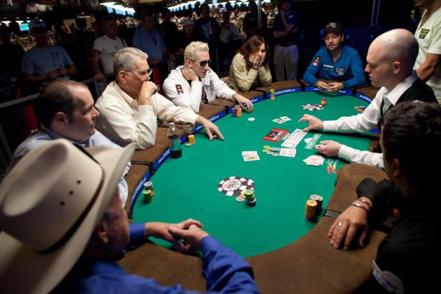 Doyle Brunson Eliminated on First Hand of Day 2