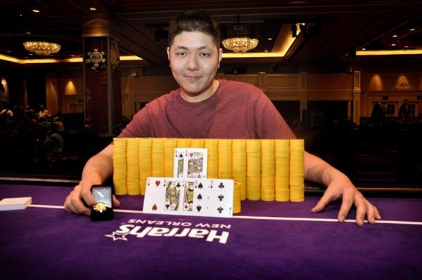 ANDY HWANG WINS BIGGEST POKER TOURNAMENT EVER HELD IN NEW ORLEANS