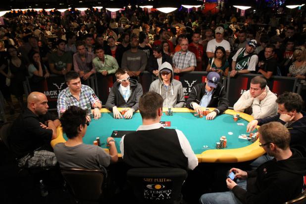 The $1,000 NLHE Final Table