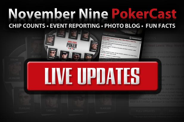 FOLLOW  THE MAIN EVENT  FINAL TABLE  LIVE ON WSOP.COM!