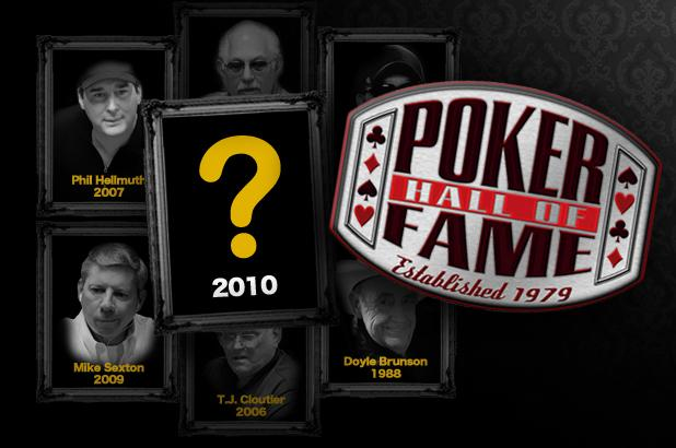 Article image for: 2010 POKER HALL OF FAME CLASS MOVES ONE STEP CLOSER