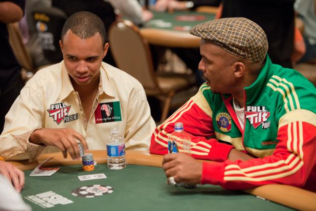 Phil Ivey and David Alan Grier