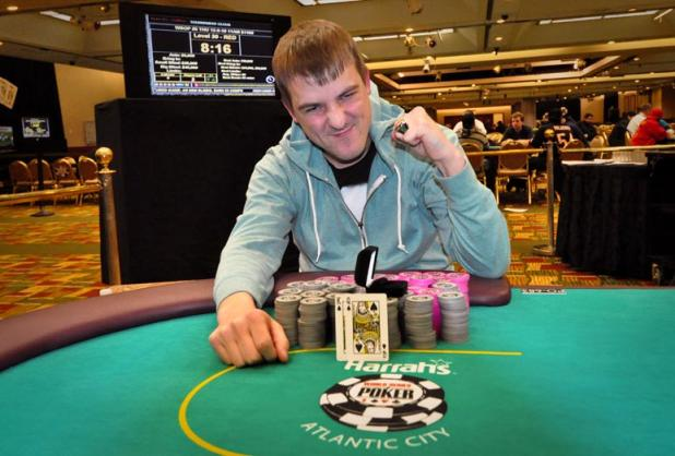 Article image for: DANIEL FISCHER REELS IN A BIG CASH IN CIRCUIT EVENT #4 AT HARRAH'S RESORT AC