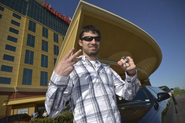 Article image for: KYLE CARTWRIGHT WINS CHAMPIONSHIP MAIN EVENT AT HARRAH'S ST. LOUIS