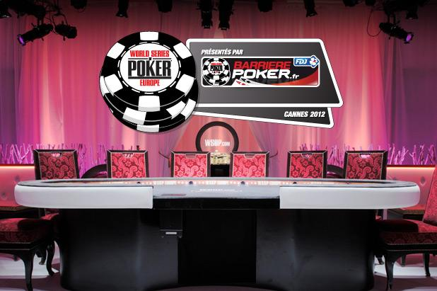 WORLD SERIES OF POKER EUROPE ANNOUNCES 2012 TOURNAMENT SCHEDULE