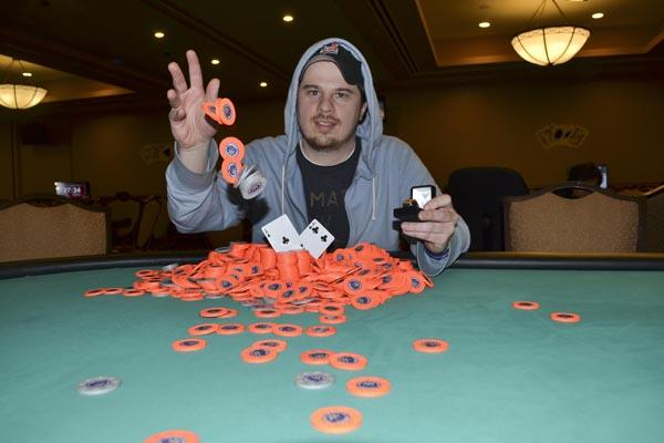 Article image for: KEVIN MCCOLGAN TAKES CASINO CHAMPIONSHIP WITH WIN IN EVENT #12 AT HARRAH'S PHILADELPHIA