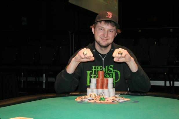 Article image for: WEBER FEVER! MATTHEW WEBER CLINCHES AN EASY VICTORY AT HARRAH'S TUNICA