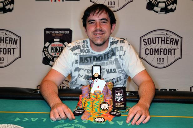 Article image for: NO REGRETS - TIM WEST WINS CIRCUIT EVENT 4 AT CAESARS PALACE