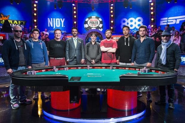 WSOP MAIN EVENT DEALS OUT THE 2015 NOVEMBER NINE