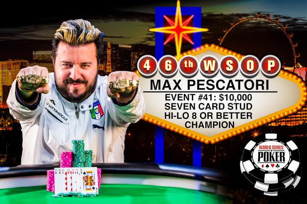 Article image for: MAX PESCATORI IS THE 7-STUD HIGH-LOW WORLD CHAMPION