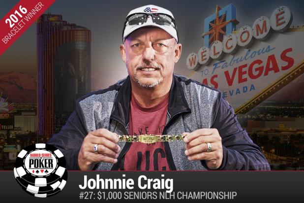 Article image for: HERE'S JOHNNIE! JOHNNIE CRAIG WINS 2016 WSOP SENIORS CHAMPIONSHIP