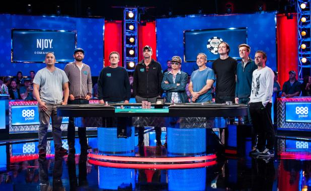 2016 MAIN EVENT FINAL TABLE BEGINS SUNDAY