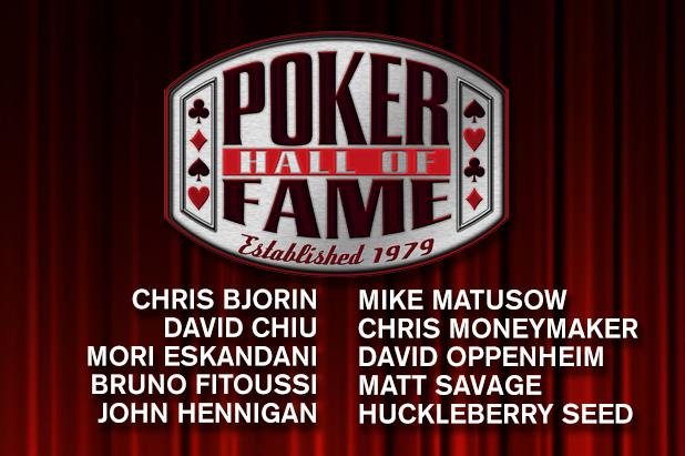 10 FINALISTS FOR 2018 POKER HALL OF FAME UNVEILED