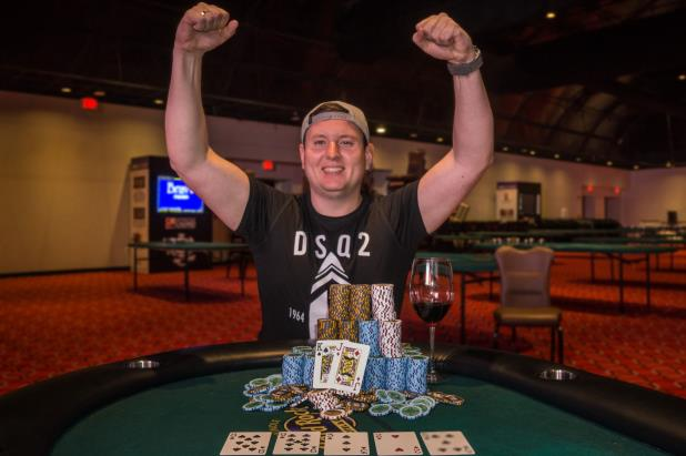 DMITRII PERFILEV WINS COCONUT CREEK MAIN EVENT