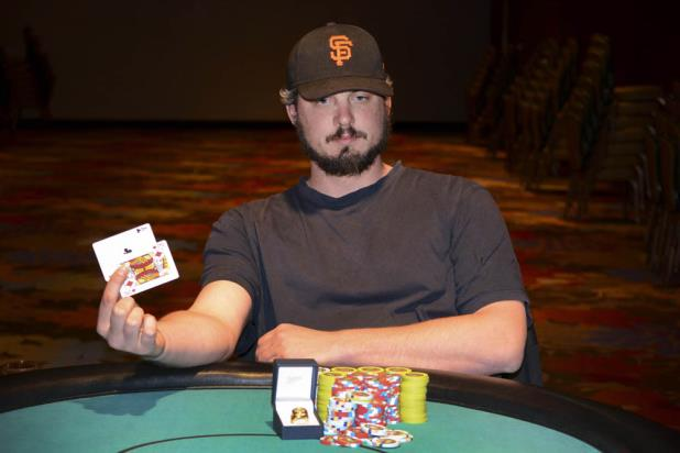 MICHAEL PEARSON WINS LAKE TAHOE MAIN EVENT FOR $133,285