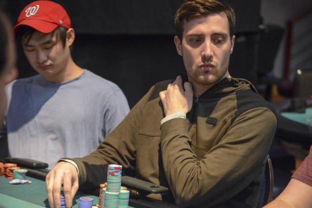 JESSE JONES BAGS DAY 1B CHIP LEAD BLAKE WHITTINGTON OVERALL LEADER