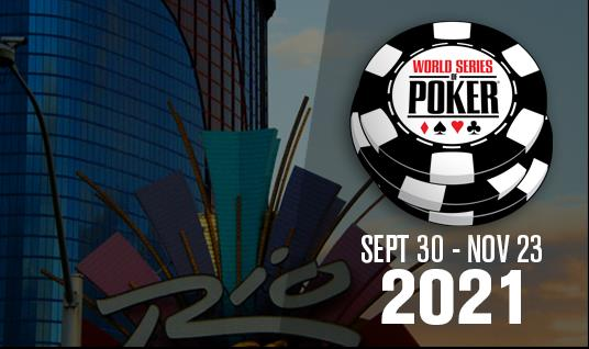 WORLD SERIES OF POKER ANNOUNCES PLANS FOR 2021