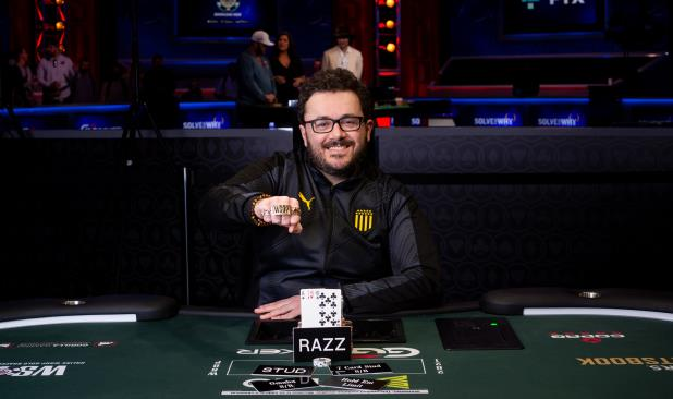 ANTHONY ZINNO WINS $1,500 HORSE FOR SECOND GOLD BRACELET OF THE SERIES