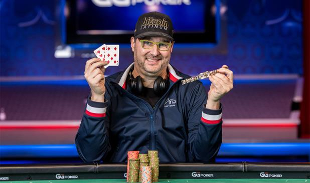 PHIL HELLMUTH EXTENDS ALL-TIME LEAD WITH GOLD BRACELET NUMBER 16