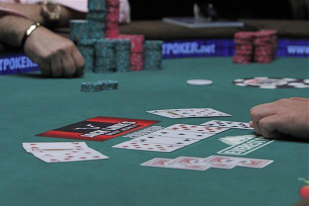 The Final Hand of $10,000 Omaha Hi-Lo