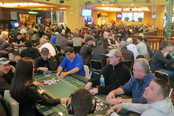 ROSS LECAVALIER LEADS LODGE CASINO MAIN EVENT