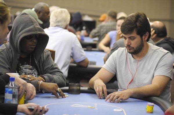 ROB SALBURU IN ATTENDANCE AT IP BILOXI MAIN EVENT