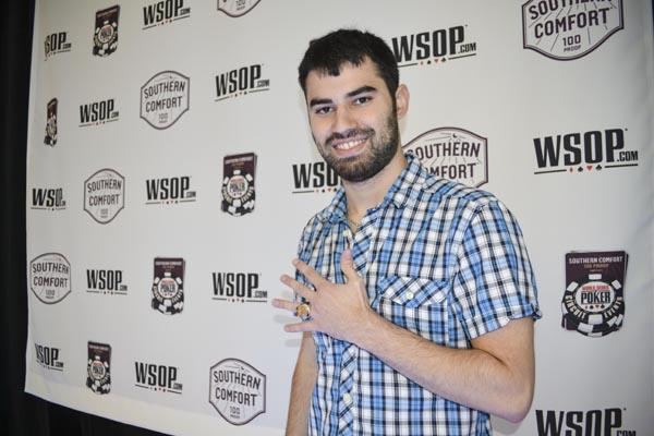 Article image for: KYLE CARTWRIGHT WINS RECORD-TYING FIFTH WSOP CIRCUIT CHAMPIONSHIP