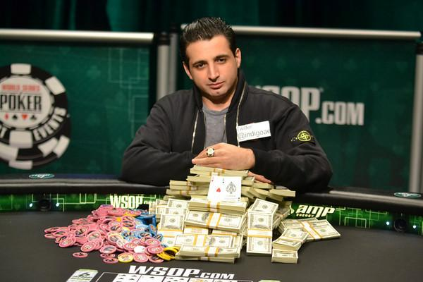 Article image for: ALI ESLAMI WINS WSOPC WEST REGIONAL CHAMPIONSHIP