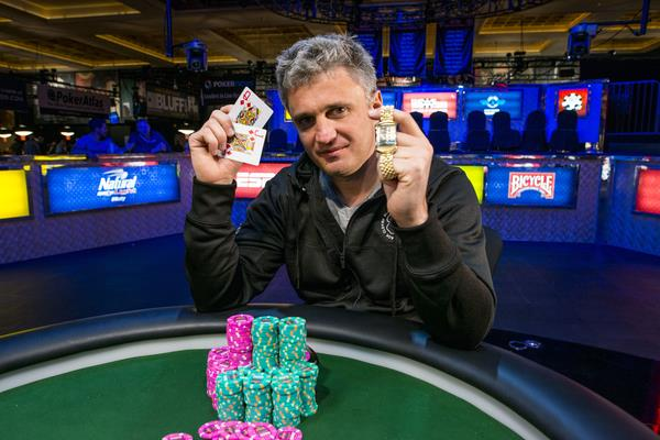ALEX BILOKUR BESTS THE PROS TO WIN THE POT LIMIT HOLD