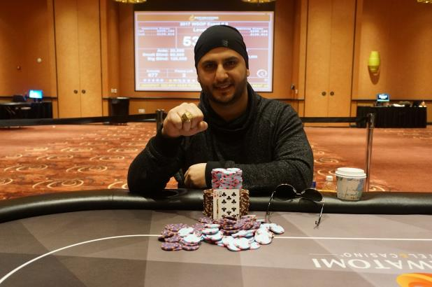 Article image for: ALEX AQEL WINS THE POTAWATOMI MAIN EVENT