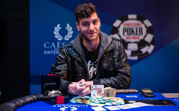 Article image for: ANTONIOS TOPPLES HELLMUTH AND WINS THE SIX-MAX EVENT
