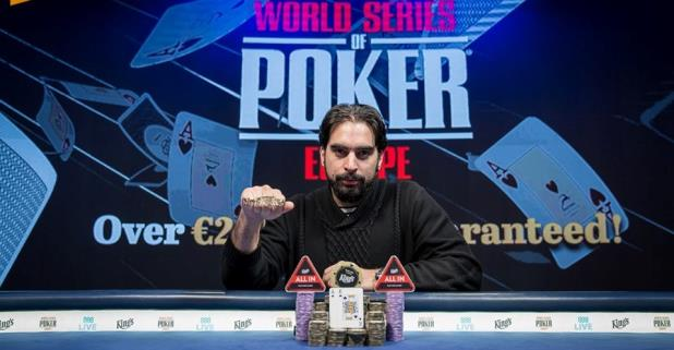 ALEXANDROS KOLONIAS WINS THE 2019 WSOP EUROPE MAIN EVENT