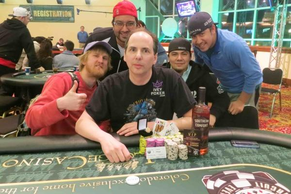CHAINSAW KESSLER LIVES UP TO HIS NAME AT LODGE CASINO