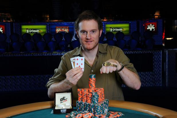 FORMER WALL STREET TRADER HITS IT BIG AT WORLD SERIES OF POKER