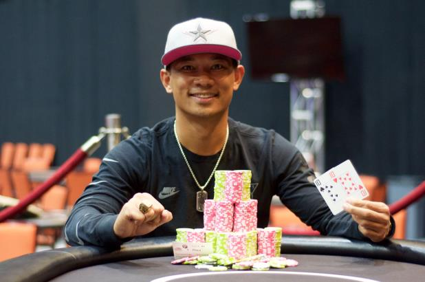 Article image for: ANDY PHILACHACK WINS CHOCTAW MAIN EVENT