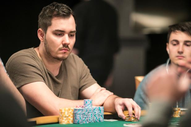 Article image for: WSOP MAIN EVENT: ANTON MORGENSTERN SURGES LATE BAGS BIG STACK IN DAY 2AB