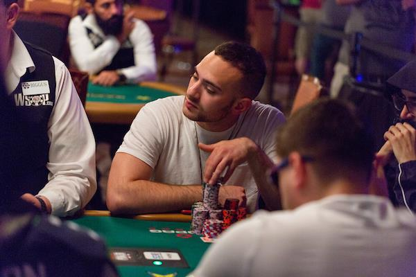 ARAM ZOBIAN LEADS FINAL 26 OF MAIN EVENT