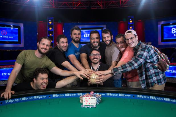 Article image for: ARISTEIDIS MOSCHONAS WINS FIRST WSOP BRACELET ON SECOND CASH IN $600 NLHE/PLO MIX