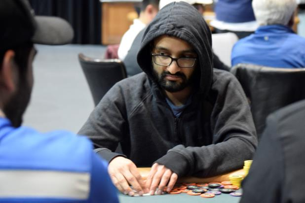 Article image for: ARJUN SRINIVAS BAGS DAY 1B CHIP LEAD IN HAMMOND