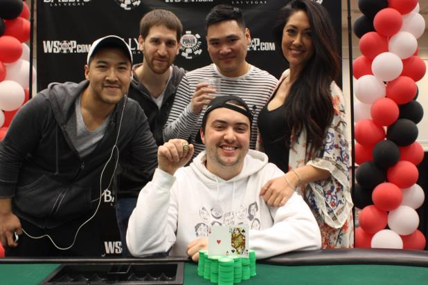 ASHER CONNIFF WINS FIRST CIRCUIT RING IN BALLYS MAIN EVENT