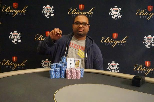Article image for: DAVE BANERJEE WINS FIRST RING IN BIKE MONSTER STACK
