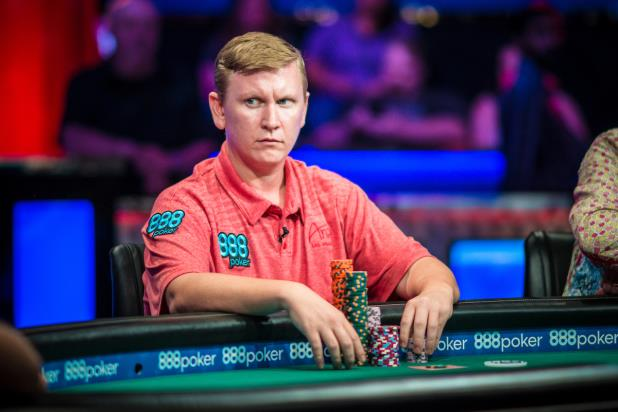 BEN LAMB AMONG CHIP LEADERS WITH 27 LEFT IN MAIN EVENT