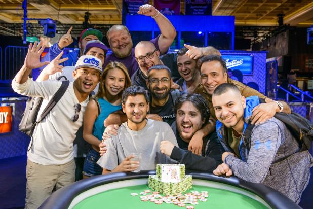 Article image for: BEN ZAMANI WINS $1,500 NLHE BRACELET AND $460K