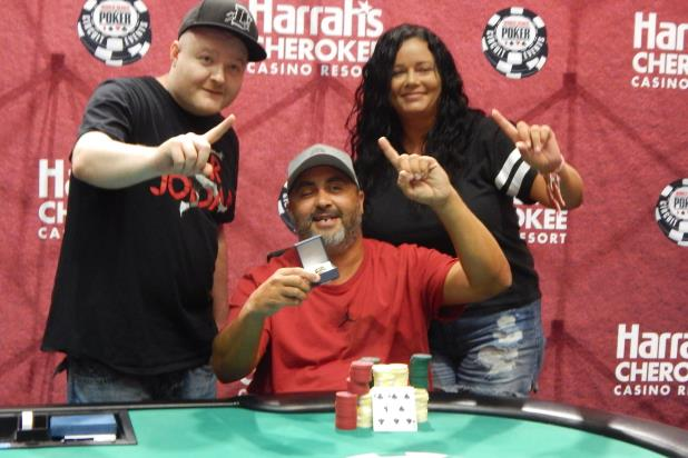 Article image for: BILLY CASHWELL WINS  MAIN EVENT CHAMPIONSHIP AT HARRAH'S CHEROKEE